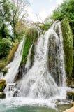 Kravice waterfalls Royalty Free Stock Photos
