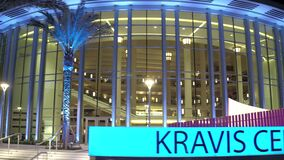 Kravis Center for the Performing Arts West Palm Beach FL at night