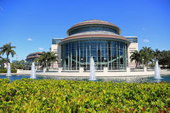 The Kravis Center in West Palm Beach Royalty Free Stock Image