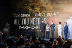 'krawędź jutro' Japonia premiera Zdjęcie Royalty Free