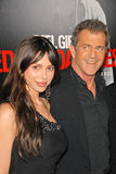 Krawędź, Mel Gibson, Oksana Grigorieva, The Edge Zdjęcia Royalty Free