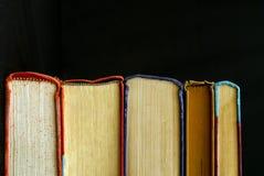 krawędzie książek Fotografia Royalty Free