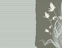krawędzi kwiecista green ilustracja wektor