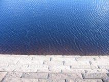 krawędzi wody Obraz Royalty Free