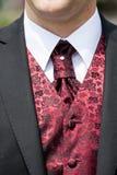 Krawat dla ślubu Fotografia Royalty Free