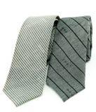 krawat dwa Zdjęcie Stock