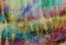Krawat farbował wzór na bawełnianej tkaninie dla tła Obraz Stock