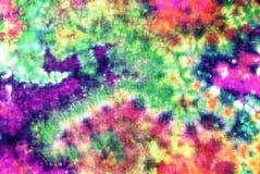 Krawat farbował wzór na bawełnianej tkaninie dla tła Fotografia Stock