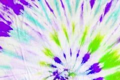Krawat farbujący deseniowy abstrakcjonistyczny tło Zdjęcia Stock