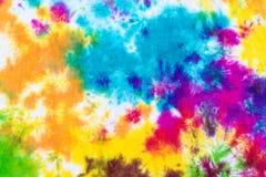 Krawat farbujący deseniowy abstrakcjonistyczny tło Fotografia Royalty Free