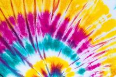 Krawat farbujący deseniowy abstrakcjonistyczny tło Obrazy Stock