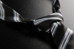 Krawat kępka z lampasami Zdjęcie Royalty Free