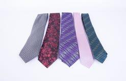 krawat lub szyja krawat na tle Fotografia Royalty Free