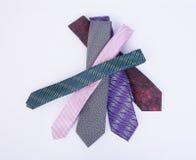 krawat lub szyja krawat na tle Zdjęcia Royalty Free