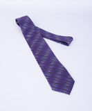krawat lub szyja krawat na tle Zdjęcie Stock