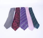 krawat lub szyja krawat na tle Obraz Royalty Free