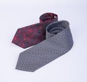 krawat lub szyja krawat na tle Fotografia Stock
