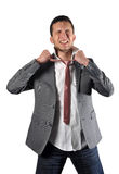 krawat męczący obrazy stock