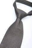 Krawat na białym tle - zakończenie fotografia stock