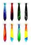 Krawat serie, 6 Fotografia Stock
