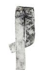 Krawatów barwidło myjący popielaci cajgi Obraz Royalty Free