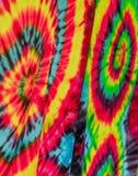 krawata barwidła tkaniny wzór Zdjęcie Stock