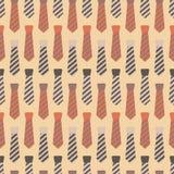 Krawata Bezszwowy wzór ilustracja wektor