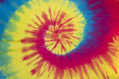 Krawata kolorowy barwidło Zdjęcia Stock