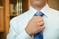Krawata położenie Obraz Stock