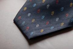 Krawata zakończenie Fotografia Stock