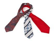 Krawatte drei stockfotos