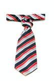 Krawatte getrennt auf Weiß stockbild