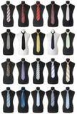 Krawattenansammlung | Getrennt Lizenzfreies Stockfoto