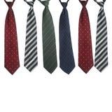 Krawattensatz Lizenzfreies Stockbild