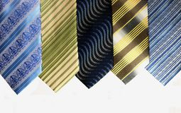 Krawaty 01 Obraz Royalty Free
