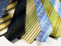 Krawaty 02 Zdjęcia Stock