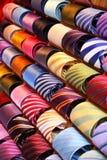 krawaty barwna fotografia stock