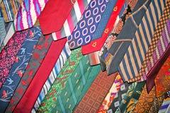 krawaty galore Zdjęcie Stock