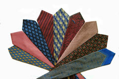 krawaty jedwab, Zdjęcia Stock