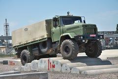 KRAZ Army Truck Stock Photography