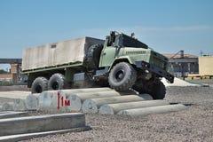 KRAZ Army Truck Royalty Free Stock Photo