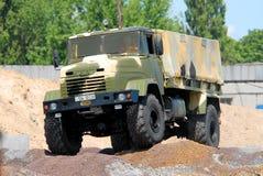 KRAZ military truck Stock Photo