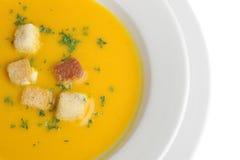 Kürbis-Suppe Stockbild