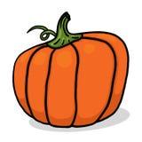 Kürbisillustration für Halloween Stockbild