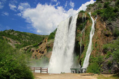 Krcic waterfall Stock Photo
