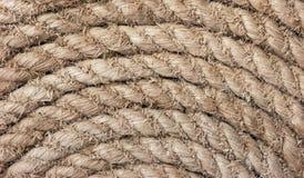 Kręcona konopiana arkana Zdjęcie Stock