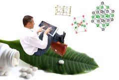 Kreation der erfinderischen Arzneimittel Lizenzfreies Stockbild