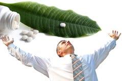 Kreation der erfinderischen Arzneimittel Stockfoto