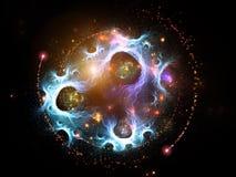 Kreation der Wissenschaft Lizenzfreies Stockbild