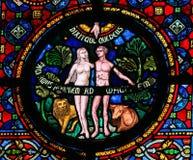 Kreation von Adam und von Eve Stockfotografie
